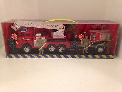 Fire Engine Toy Set Kids Toys Age 3+