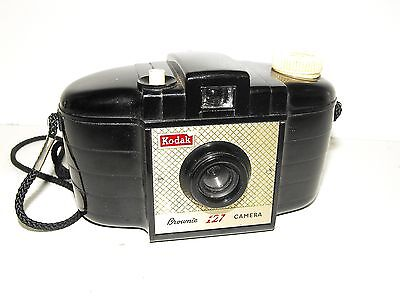 "Vintage Kodak Brownie 127 Film Camera Made In England ""Great Vintage Condition"""