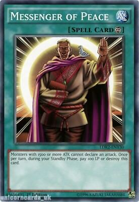 LDK2-ENY30 Messenger of Peace 1st edition Mint YuGiOh Card