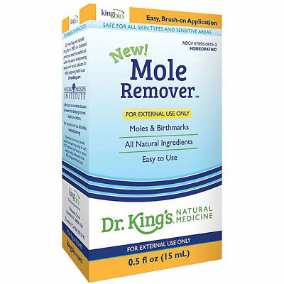 Dr. King's All Natural Mole Remover Solution - 0.5 fl. Oz.