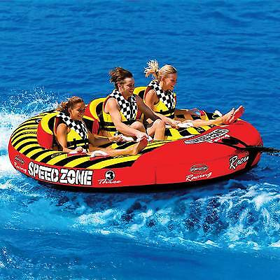Sportsstuff SPEEDZONE 3  - Inflatable Tube Towable Biscuit Water Toy