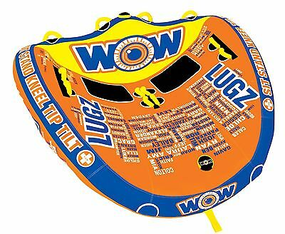 WOW Watersports LUGZ  - Inflatable Tube Towable Biscuit Water Toy