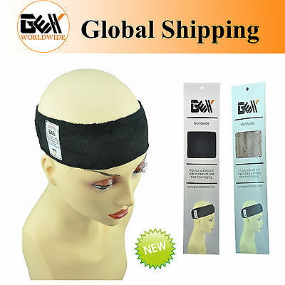 GEX Flexible Velvet Wig Grip Scarf Head Hair Band Adjustable Fastern 2 Colors AU