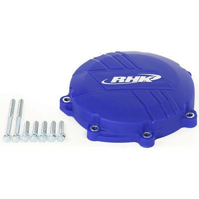 NEW RHK Mx Yamaha YZ450F 2010-2016 Dirt Bike Blue Clutch Cover Protector Case