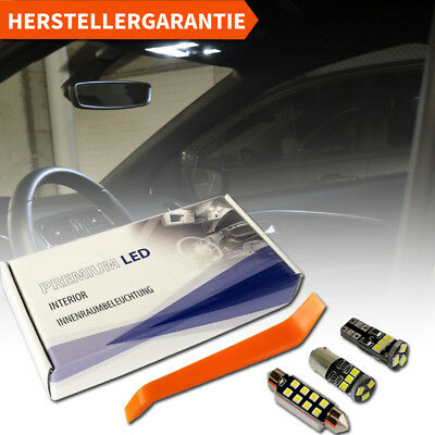 VW Polo 6C Premium LED Innenraumbeleuchtung 8 SMD Komplett Set weiß Canbus