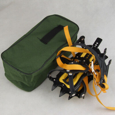 Anti-Slip Ice/Snow Boot Shoe Covers Crampons Ice Cleats Gripper Climbing