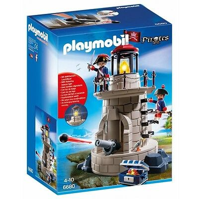 Playmobil Soldier Tower With Beacon 6680