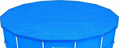 Bestway Steel Pro Frame Pool Cover - Blue, 15 Ft 5O
