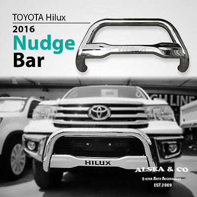 New Toyota Hilux Nudge Bar Compatible 2015-2016 Model