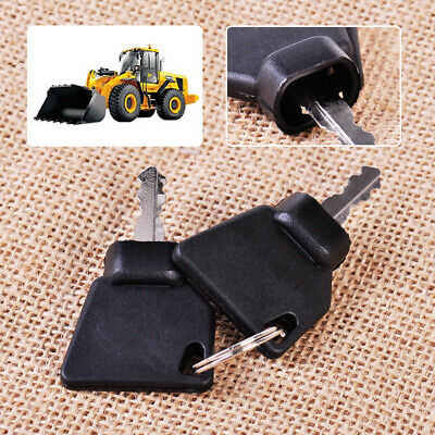 2X Equipment Ignition Key for Switch Starter JCB 3CX Parts Digger Plant Keys  VQ