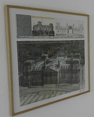 "Christo, ""Wrapped Reichstag"", signiert ... TOP ANGEBOT!!!"