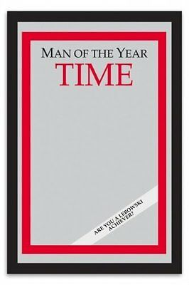 "The Big Lebowski Time: Man Of The Year Bar Mirror Size: 9"" x 12"" christmas gift"