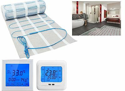 Underfloor Heating Mat * ALL SIZES Dual Core Electric 150w/m² Under Tile Heating