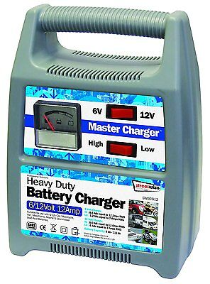 Battery charger 12v 6v trickle charge car van 12 Amp Boat Bike Automatic master
