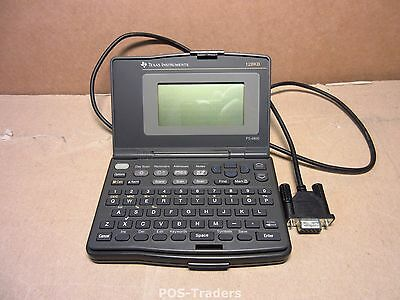 Texas Instruments TI PS-6500 Personal Organizer & PS-6155 PC SERIAL Kit EXCL PSU