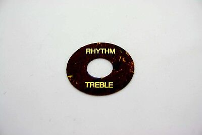 Toggle Switch Ring Washer Black - 3 Way Switch - For Gibson Les Paul Epiphone