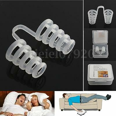 Anti Snore Stop Snoring Nasal Dilators Night Sleeping Aid Nose Clips Easy Breath