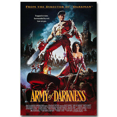 Army of Darkness Classic Horror Movie Silk Poster Print 12x18 24x36 inch