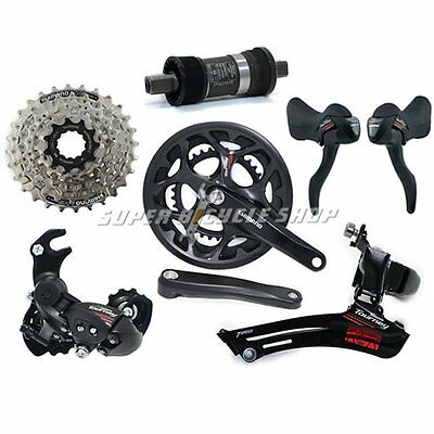 SHIMANO Tourney A070 Road 2 x 7 Speed Groupset 6 piece