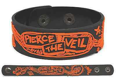 PIERCE THE VEIL Rubber Bracelet Wristband Misadventures
