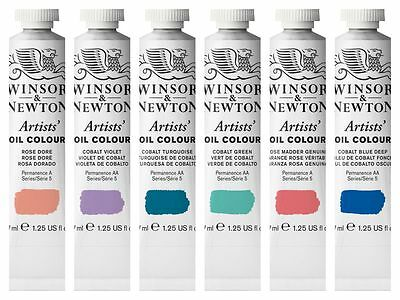 Winsor & Newton Artist Oil Colour 37ml Tubes Series 5 Colours
