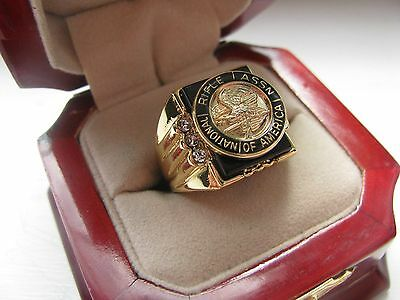 "NEW! Gents ""National Rifle Association"" CREST Ring *"