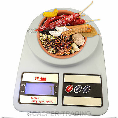 10kg Digital LCD Electronic Kitchen Postal Scales Postage Parcel Weighing Weight