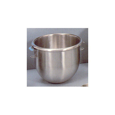 Stainless-steel 12 quart mixer bowl for the Hobart 12qt. Mixer