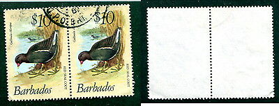 Used Barbados #511 Pair (Lot #11565)