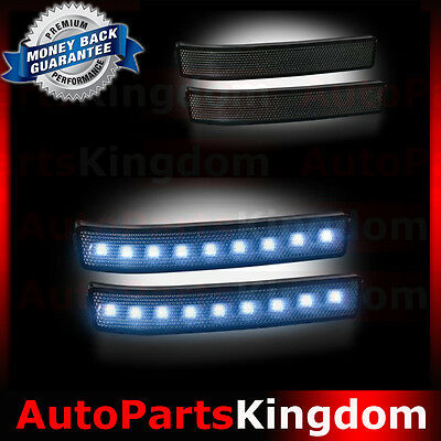 Ford F Mirror Runningturn Lights White Ledsmoke Lens Replacement