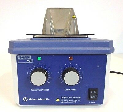 Fisher Scientific Isotemp 102 15-460-2 Heated Water Bath Lab Laboratory