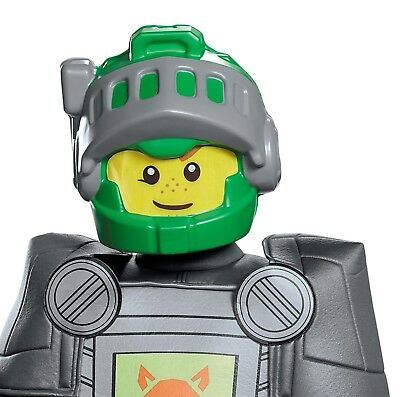 LEGO NINJAGO Aaron Child Mask Costume Boys Ninja Masters of Spinjitzu Green