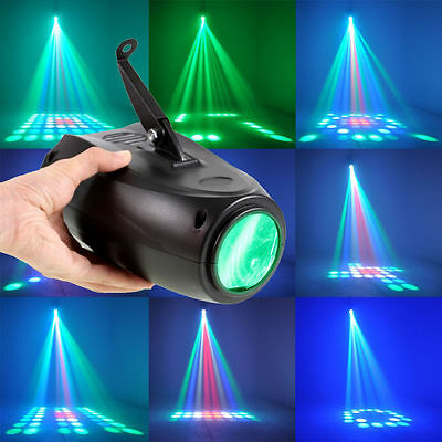 UK Disco DJ Stage Laser Light 64LED RGBW Crystal Effect Small Airship Party Club