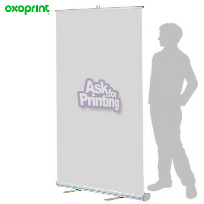 "Retractable Roll Up Banner Stand 59""x79"" Trade Show Displays (No Print Included)"