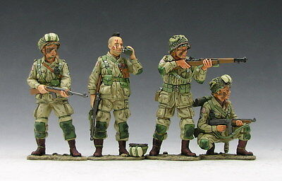 King and (&) Country DD046 - D-Day Paratrooper Set - Retired