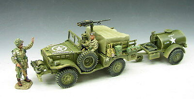 King and (&) Country DD049 - Dodge 3/4 Ton Weapons Carrier - Retired