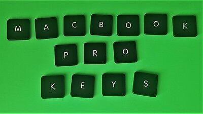 "Apple Macbook Pro:13"" 15"" 17"" INDIVIDUAL Replacement keys buttons TYPE (A)  CLIP"