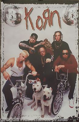 Korn 23x35 Bicycles Group Poster