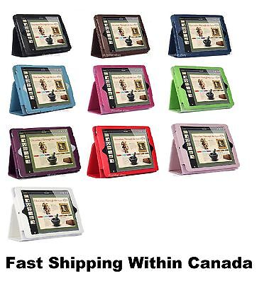 """7.9 """" Apple iPad mini 1 2 3 4 Magnetic Pouch Leather Folio Stand Case Cover"""