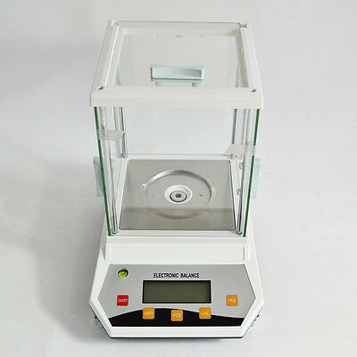 200g x 0.001 GRAM 1 MG  LAB ANALYTIC PRECISION DIGITAL SCALE BALANCE With CE