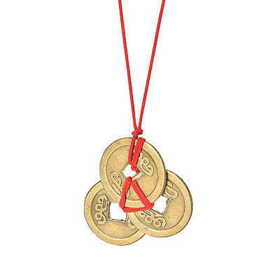 Charms Tied Chinese Oriental Feng Shui Wealth Lucky