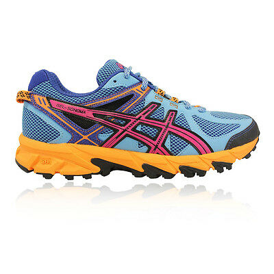 Asics Gel Sonoma Womens Blue Trail Running Sports Shoes Trainers Pumps