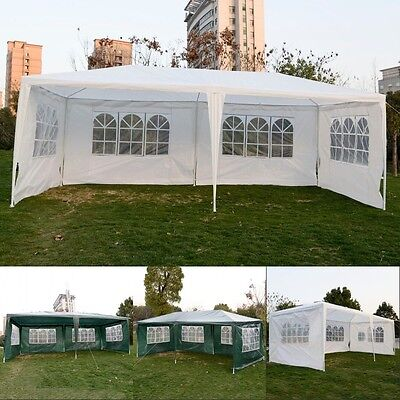 10'x20'Outdoor Canopy Party Wedding Tent Cater Events Gazebo Pavilion Heavy duty