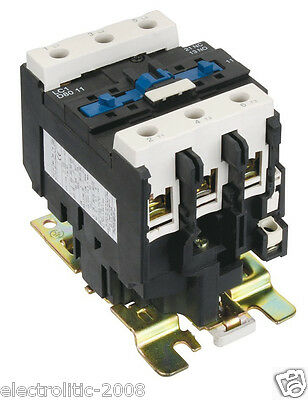 18.5kw 3 Pole Contactor 40A AC Coil 24V