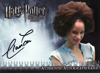 Harry Potter Half Blood Prince Update Elarica Gallacher as Waitress Auto Card