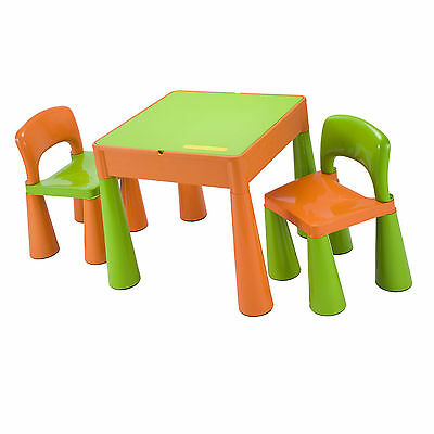 Kids Table and Chairs Children Playroom Set Nursery Toddlers Multipurpose NEW