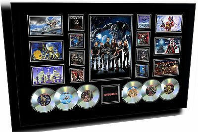 New Iron Maiden Signed Limited Edition Framed Memorabilia