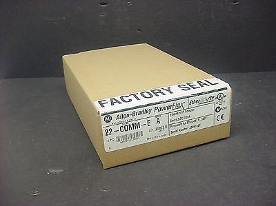 New Sealed Allen Bradley 22-COMM-E PowerFlex EtherNet/IP Communication Card 2010