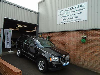 """2007 """"56"""" Grand Cherokee 3.0 Crd Limited 5 Door  Automatic 4X4"""