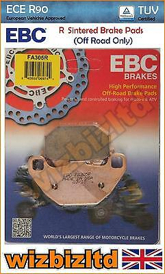 EBC Rear Sintered R-Series HD Brake Pads Kymco MXer 50 (Quad) 00-07 FA305R